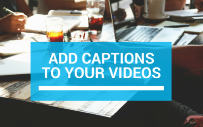 Add captions to your videos