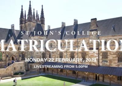 St John's College Matriculation
